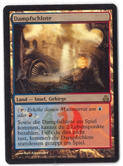 Magic the Gathering Guildpact GERMAN Single Steam Vents FOIL - NEAR MINT (NM)