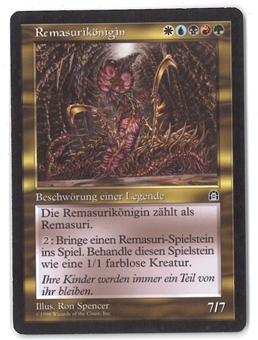 Magic the Gathering Stronghold GERMAN Single Sliver Queen - MODERATE PLAY (MP)