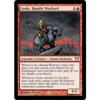 Magic the Gathering Champions of Kamigawa Godo, Bandit Warlord Foil - MP