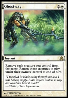 Magic the Gathering Guildpact Single Ghostway - SLIGHT PLAY (SP)