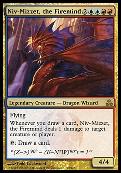 Magic the Gathering Guildpact Single Niv-Mizzet, the Firemind - MODERATE PLAY (MP)