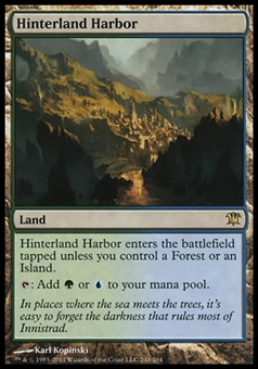 Magic the Gathering Innistrad Single Hinterland Harbor - SLIGHT PLAY (SP)