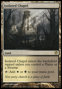 Magic the Gathering Innistrad Single Isolated Chapel - SLIGHT PLAY (SP)