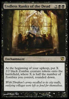 Magic the Gathering Innistrad Single Endless Ranks of the Dead - NEAR MINT (NM)