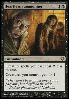 Magic the Gathering Innistrad Single Heartless Summoning FOIL - NEAR MINT (NM)