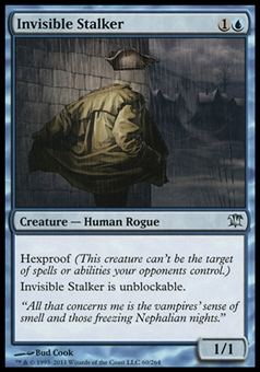 Magic the Gathering Innistrad Single Invisible Stalker FOIL - NEAR MINT (NM)