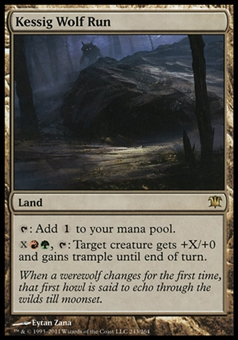 Magic the Gathering Innistrad Single Kessig Wolf Run - NEAR MINT (NM)