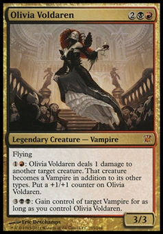 Magic the Gathering Innistrad Single Olivia Voldaren - SLIGHT PLAY (SP)