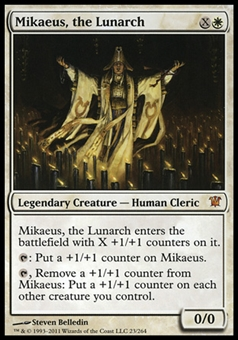 Magic the Gathering Innistrad Single Mikaeus, the Lunarch - MODERATE PLAY (MP)