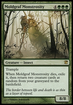 Magic the Gathering Innistrad Single Moldgraf Monstrosity FOIL - NEAR MINT (NM)