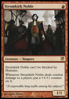 Magic the Gathering Innistrad Single Stromkirk Noble - SLIGHT PLAY (SP)