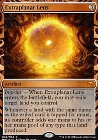 Magic the Gathering Kaladesh Single Extraplanar Lens INVENTION - NEAR MINT (NM)
