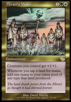 Magic the Gathering Judgment CHINESE Single Mirari's Wake - SLIGHT PLAY (SP)