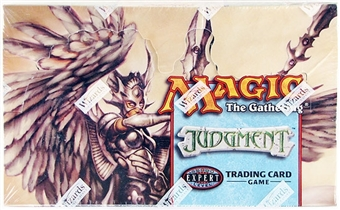 Magic the Gathering Judgment Booster Box (Ex-Box Mt-Pack)