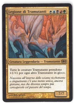 Magic the Gathering Future Sight ITALIAN Single Sliver Legion - SLIGHT PLAY (SP)