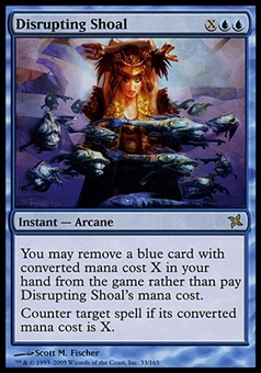 Magic the Gathering Betrayers of Kamigawa Single Disrupting Shoal - SLIGHT PLAY (SP)