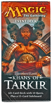 Magic the Gathering Khans of Tarkir Event Deck