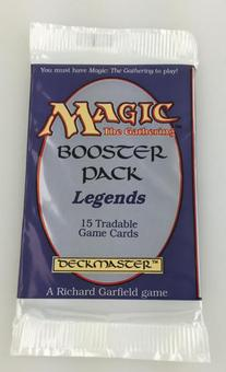Magic the Gathering Legends Booster Pack - Sealed Unsearched
