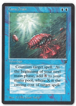 Magic the Gathering Legends Single Mana Drain - INKED EDGES