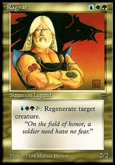 Magic the Gathering Legends Single Ragnar - NEAR MINT (NM)