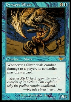 Magic the Gathering Legions Single Synapse Sliver - MODERATE PLAY (MP)