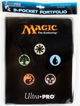 Ultra Pro Magic the Gathering Mana 2 9-Pocket Portfolio (10 Pages)