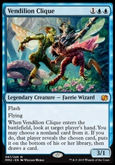 Magic the Gathering Modern Masters 2015 Edition Single Vendilion Clique NEAR MINT (NM)