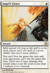 Magic the Gathering Modern Masters Single Angel's Grace - SLIGHT PLAY (SP)