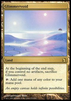 Magic the Gathering Modern Masters Single Glimmervoid - MODERATE PLAY (MP)