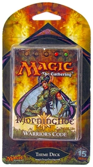 Magic the Gathering Morningtide Warrior's Code Precon Theme Deck