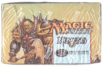 Magic the Gathering Nemesis SEALED Booster Box - ITALIAN LANGUAGE