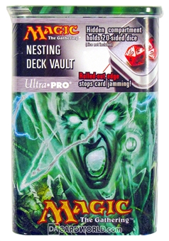 Ultra Pro Magic the Gathering Graveborn Nesting Deck Vault with Dice Compartment - Reg Price $8.99 !
