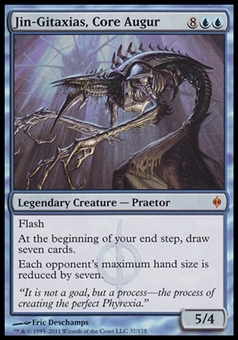 Magic the Gathering New Phyrexia Single Jin-Gitaxias, Core Augur - SLIGHT PLAY (SP)