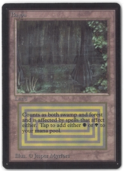 Magic the Gathering Beta Single Bayou - NEAR MINT (NM)
