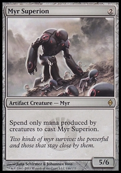 Magic the Gathering New Phyrexia Single Myr Superion FOIL - NEAR MINT (NM)