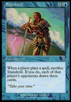 Magic the Gathering Odyssey Single Standstill - MODERATE PLAY (MP)