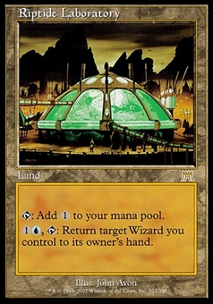Magic the Gathering Onslaught Single Riptide Laboratory - MODERATE PLAY (MP)
