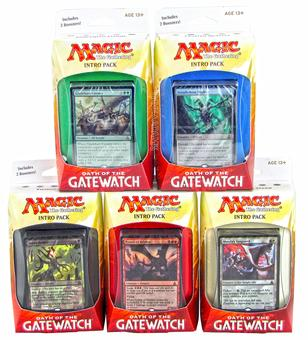 Magic the Gathering Oath of the Gatewatch Intro Pack - Set of 5
