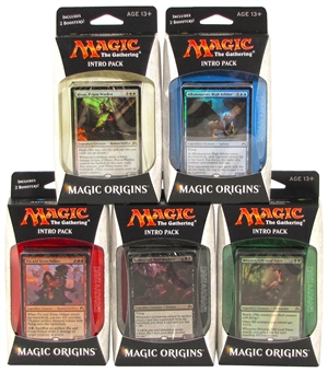 Magic the Gathering Origins Intro Pack - Set of 5