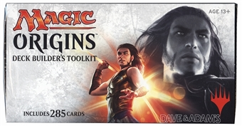 Magic the Gathering Origins Deck Builders Toolkit Box