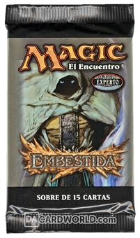 Magic the Gathering Onslaught Booster Pack - Spanish - FETCH LANDS !!!
