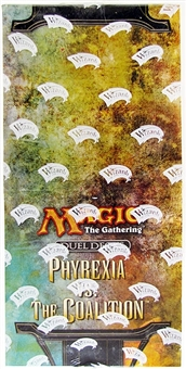 Magic the Gathering Phyrexia Vs. The Coalition Duel Deck Box