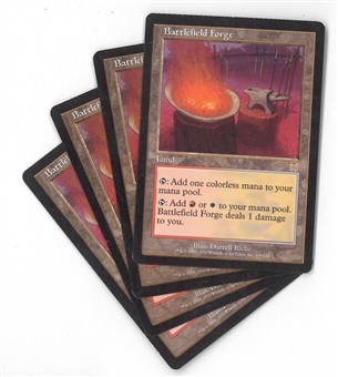 Magic the Gathering Apocalypse Single PLAYSET Battlefield Forge X4 - MODERATE PLAY (MP)