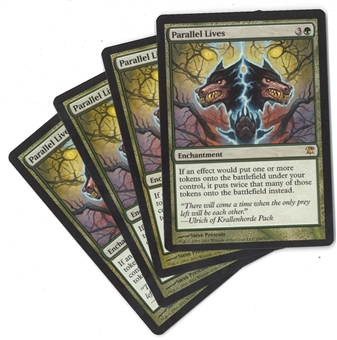 Magic the Gathering Innistrad Single PLAYSET Parallel Lives X4 - NEAR MINT (NM)