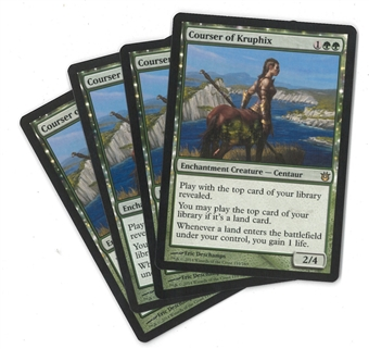Magic the Gathering Born of the Gods Single PLAYSET Courser of Kruphix X4 - NEAR MINT (NM)