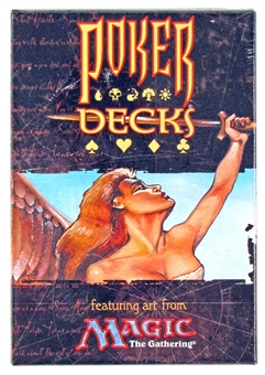 Magic the Gathering Poker Decks