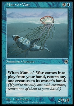 Magic the Gathering Portal Single Man-o'-War - NEAR MINT (NM)
