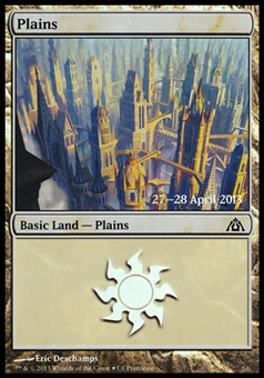 Magic the Gathering Promotional Single Plains (Dragon's Maze Prerelease) - NEAR MINT