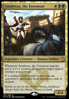 Magic the Gathering Promo Single Anafenza, the Foremost FOIL - NEAR MINT (NM)