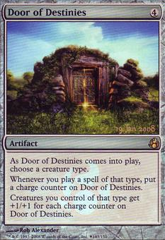 Magic the Gathering Promo Single Door of Destinies FOIL - NEAR MINT (NM)